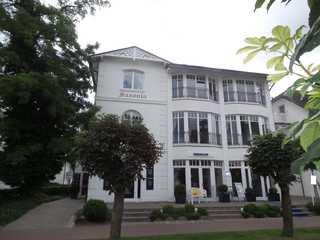 Ferienwohnung Haus Saxonia im Ostseebad Binz auf Rügen Außenansicht
