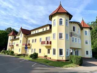 Hotel Dünenschloss Hotelfront