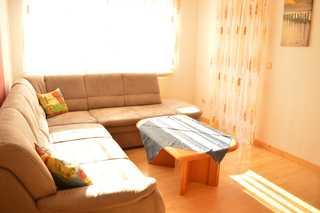 Ferienwohnung Mielke Wohnzimmer