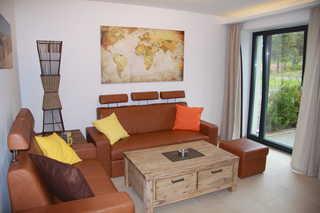 Strandresidenz Appartement Seeadler V01 in Prora Wohnbereich