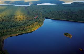 KIWI Ferienwohnungen am Dreier See Lage am Dreier See