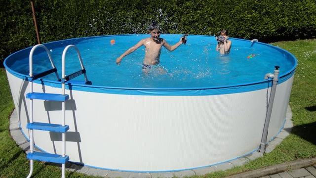 Ferienhaus Karin- Unser Pool
