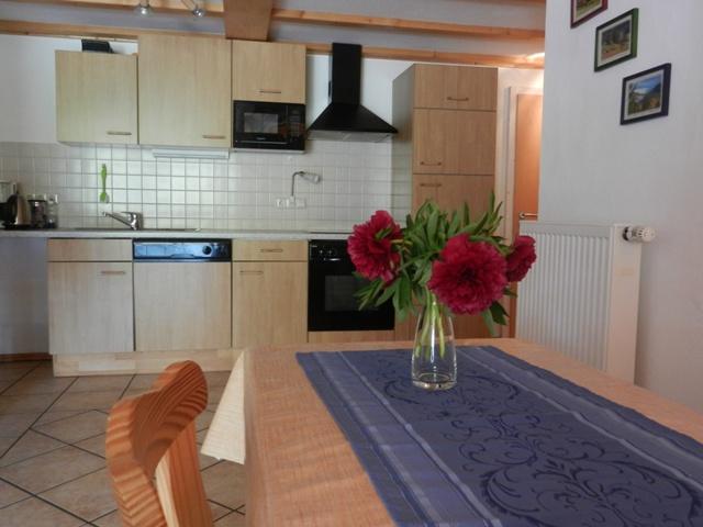 """Küche in der Wohnung """"Schwalbennest"""""""