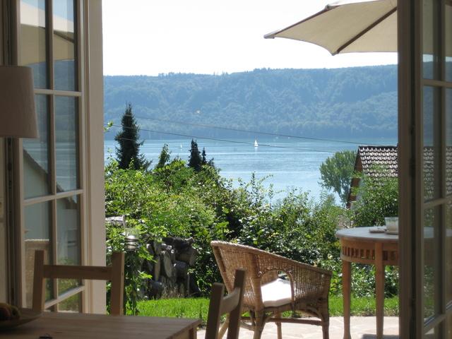 Villa Romantica am See Natursteinterrasse mit sensationellem Seeblick