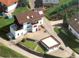 Ferienhaus KorsikaBlick Haus aus der Vogelperspektive
