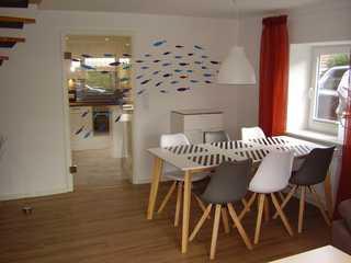 Ferienhaus in Dornumersiel 800-147b Essbereich