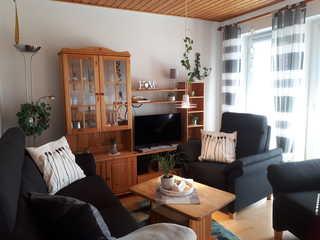 Ferienwohnung Poerschke Wohnzimmer
