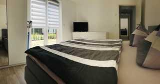 Ferienhaus live deluxe in der schönen Uckermark Doppelbett