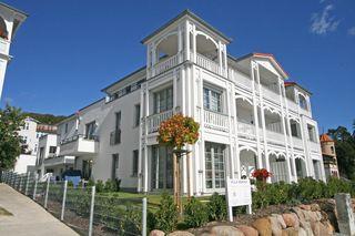 A: Villa Annika Whg. 10 mit Westbalkon Außenansicht