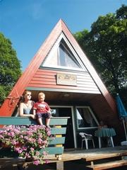 Ferienhaus Hexenzipfel Außenansicht der Terasse