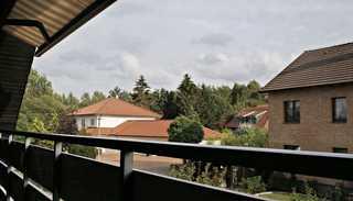 Ferienwohnung mit Südbalkon Blick vom Balkon