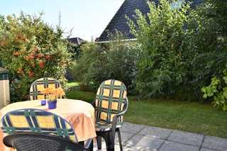 Zinnowitz, Sonneninsel WG2 Terrasse und Garten