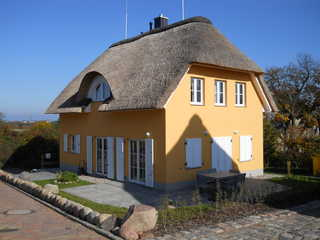 Ferienhaus Midsommar ... Das Haus Midsommar von außen