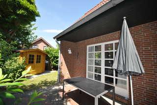 Nr. 98 - Ferienhaus Fischerstraße Garten / Terrasse