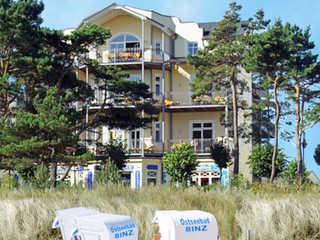 Villa ATLANTIC F 651 WG 6 Strandblick mit seitl. Meerblick Das Appartementhaus ATLANTIC im Ostseebad Binz