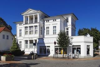 Bansin - Villa Anna Wohnung Rubin Außenansicht