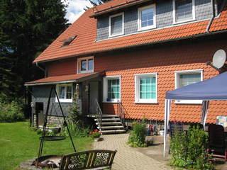Ferienwohnung Haus Tanneck - SORGENFREI BUCHEN* Außenansicht der Ferienwohnung