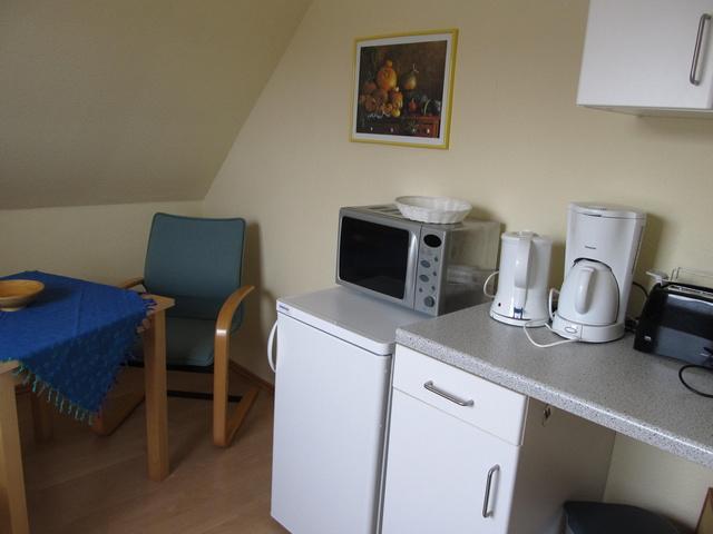 Wohnküche des Ap. Norderney