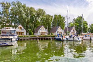 Ferienhaus Buhne 2 Ferienhäuser Buhne 1-3 im Hafen Rankwitz