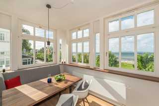 Villa Strandeck, App. Meeresleuchten - direkt am Meer Ausblick