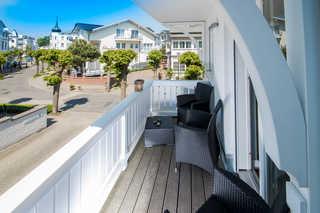 Villa Hansa, App. 4, 2 SZ, 2 Bäder, in Binz, 2 Balkone Geniessen Sie den Blick zur Flaniermeile Binz
