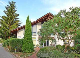Ferienwohnung Waren Müritz SEE 9761 Blick auf das Wohnhaus mit Ferienwohnung