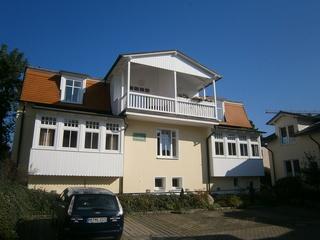 Ferienwohnung Haus Liebeskind 02 im Ostseebad Binz auf Rügen Ansicht Haus Liebeskind
