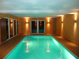 Ferienhaus Rehsprung Indoor Swimming Pool