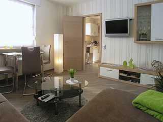 Ferienwohnung Traumblick Wohnzimmer