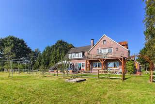 Ferienwohnung Leichte Brise im Haus Hohe Lucht in Dunum Außenansicht