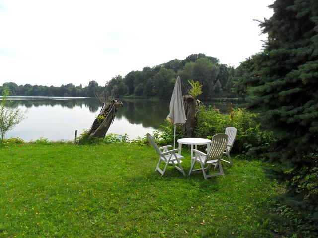 Gästesitzplatz am See