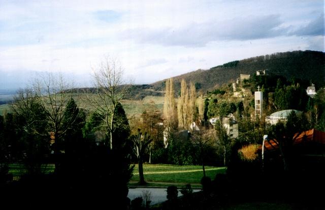 Ferienwohnung Markgräfin Blick zum Oberrheintal