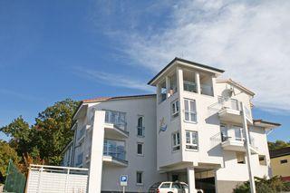 Residenz Binz Whg. 16 mit Balkon und Seeblick Außenansicht