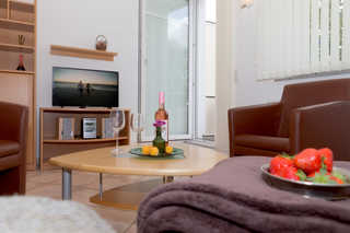 Ferienwohnung Ostseeperle Wohnzimmer