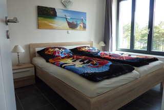 Strandresidenz Appartement Basstölpel A22 in Prora Schlafzimmer 1