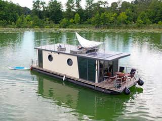 Hausboot La Mesa Luftbild
