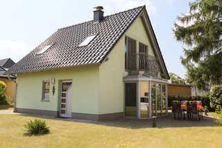 Ferienhaus Schulz Terrasse