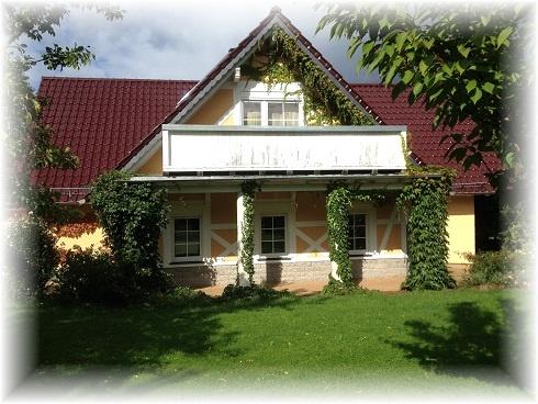Harz Ferien - Villa am Wald II bis max 15 Personen Hausansicht