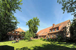 Ferienhof Polderhof in Bensersiel Außenansicht