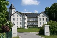 Jagdschloss Hohen Niendorf Südansicht Jagdschloss Hohen Niendorf