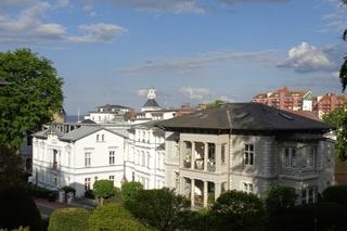 Villa Sabinium Whg. 5 zentral-strandnah-modern Außenansicht