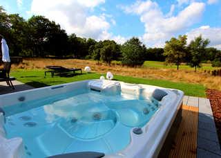 Luxus-VILLA TEE TIME Eigener Außenwhirlpool (ganzjährig 38 °C) mit G...
