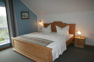Ferienwohnung Sonnenschein Doppelbett