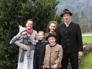 Böcklhof, Kreuth-Brunnbichl Familie Kandlinger
