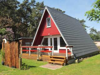 Finnhütte 800 Meter zum Sandstrand Ferienhaus Rabennest
