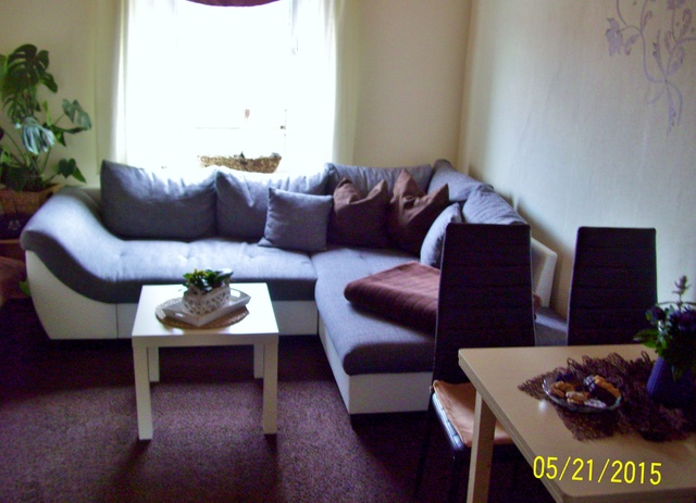 Wohnzimmer im OG mit Essbereich
