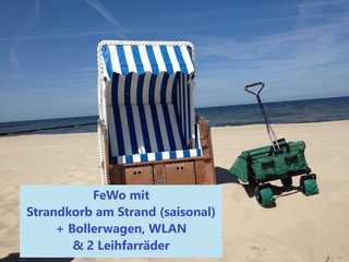 Zempin Ostseepark WE 40 **Insel Usedom**150m zum Strand** Mit saisonalem Strandkorb direkt am Strand, WLA...