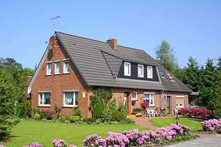 Ferienhaus Zur Schmiede in Dunum Außenansicht