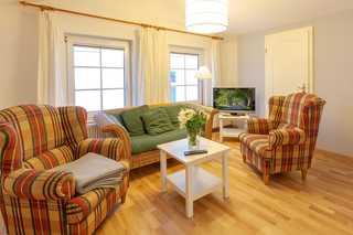 Villa Granitz Wind & Wolke offenes Wohnzimmer
