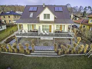 Casa Sellin F586 WG 1 mit gr. Balkon + Gartennutzung Casa Sellin im Ostseebad Sellin